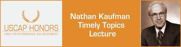 Nathan Kaufman Timely Topics Lecture