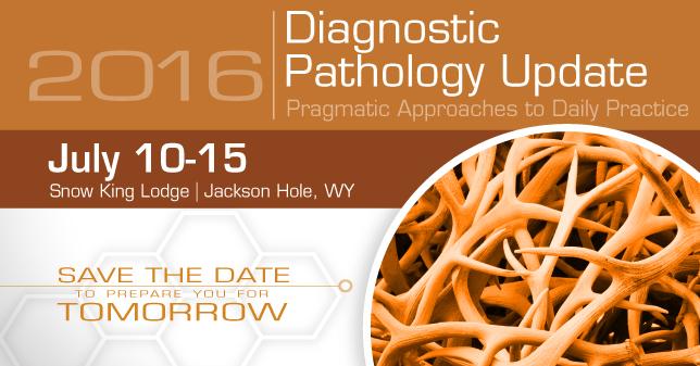 2016 Diagnostic Pathology Update