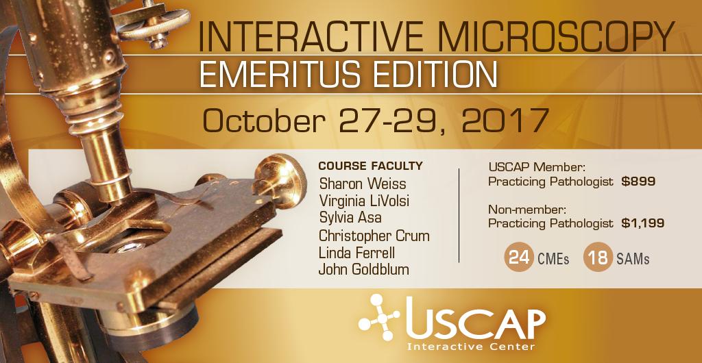 Interactive Microscopy: Emeritus - October 27-29, 2017