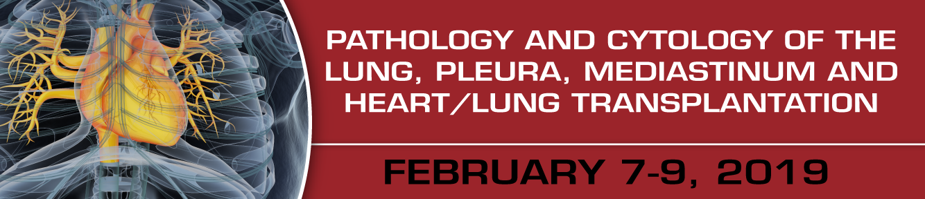 Pathology and Cytology of the Lung, Pleura, Mediastinum and Heart/Lung Transplantation