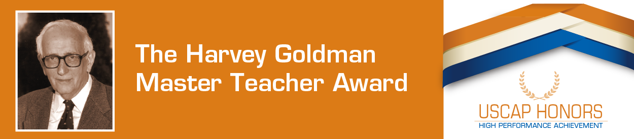 The Harvey Goldman Master Teacher Award