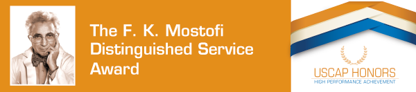 The F.K. Mostofi Distinguished Service Award
