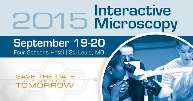 2015 Interactive Microscopy