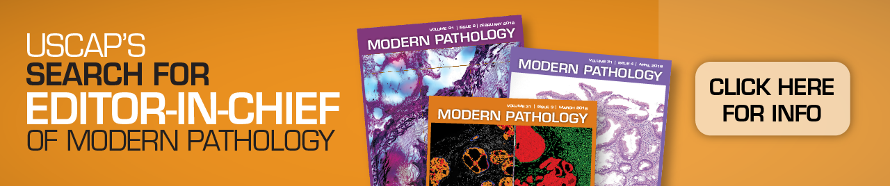 Search for Editor-in-Chief of Modern Pathology