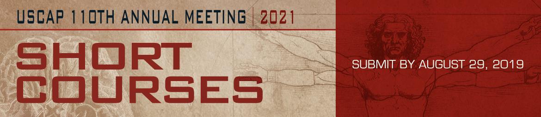 2021 Short Course Proposal Banner